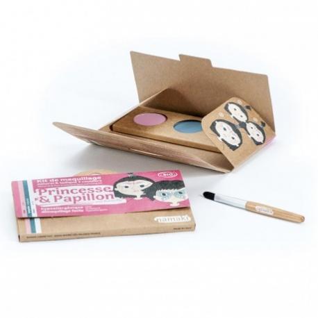 Kit de maquillaje infantil: Princesa y Mariposa