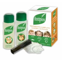 Antipiox. Tratamiento completo contra los piojos.