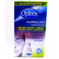 Optrex Actimist 2en1 ojos cansados + molestos