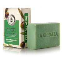 Jabón artesano regenerador de Aloe y Manzanilla La Chinata.